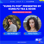 """Kung Fu Pop"" presented by Kung Fu Tea & KCON"