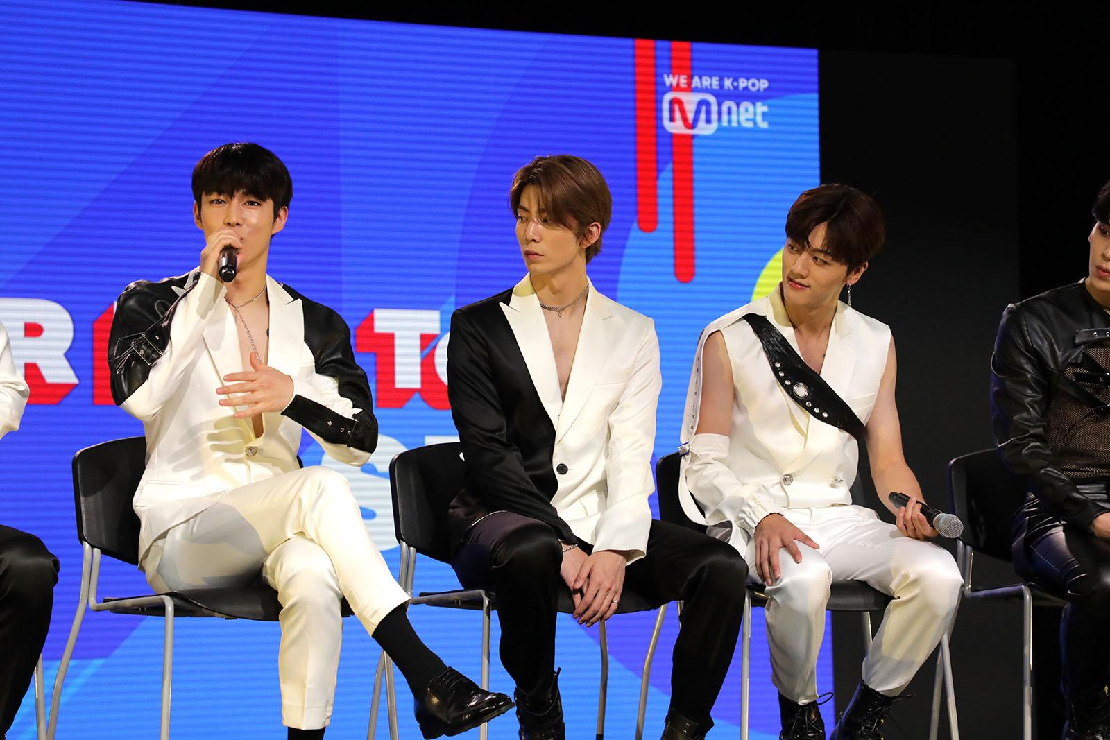 KCON STAR LIVE TALK SF9
